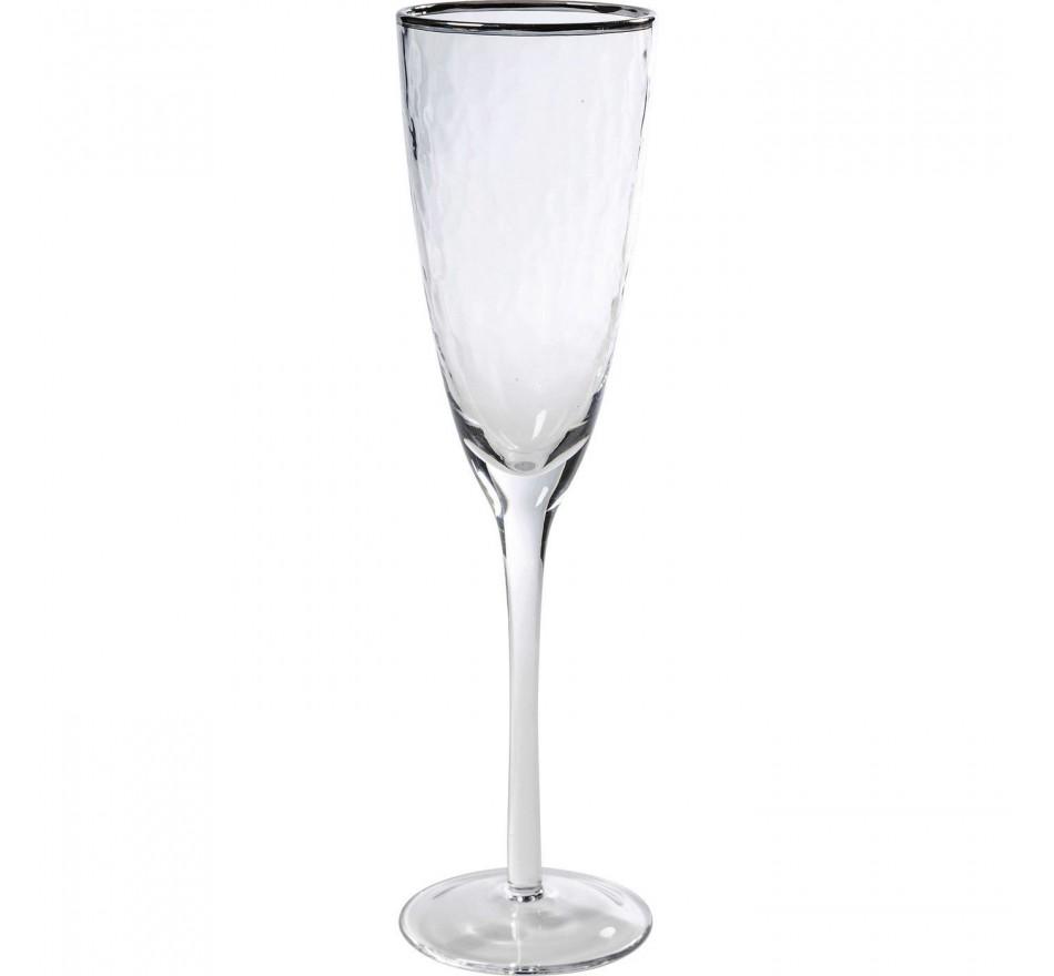 Flûtes à champagne Vibrations set de 6 Kare Design