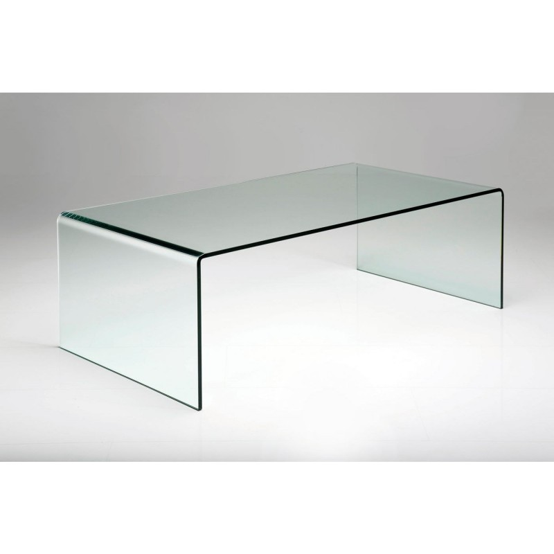 Kare Basse Clear Club En Table Contemporaine Basic Verre Design MUSzpqVG