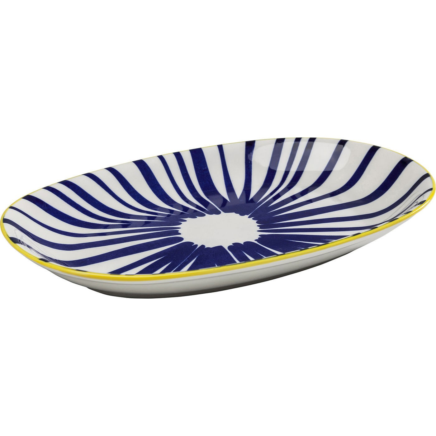 Plats Blu Ora ovales 24cm set de 2 Kare Design