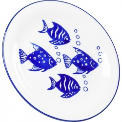 Assiettes Aquarium 22cm set de 4 Kare Design