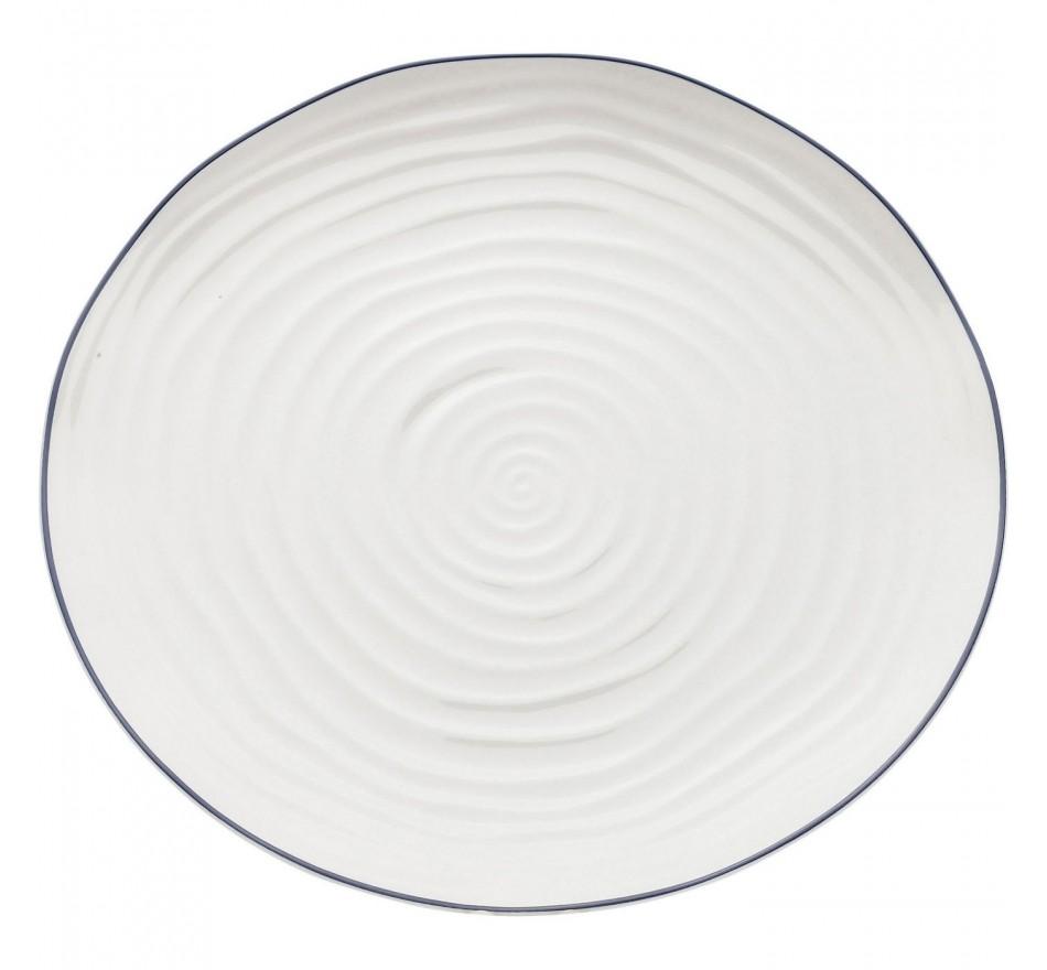 Assiettes Swirl 27cm set de 6 Kare design