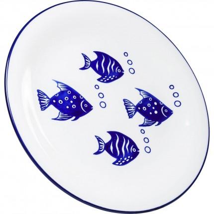 Assiettes Aquarium 27cm set de 4 Kare Design