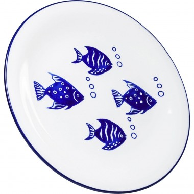 Assiettes Aquarium 27cm set de 4 Kare Design