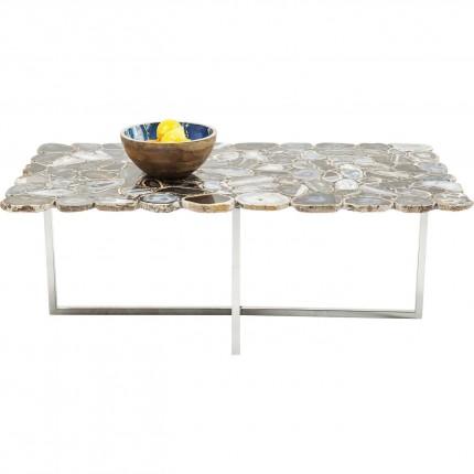 Table basse Tesoro bleue 110x60cm Kare Design