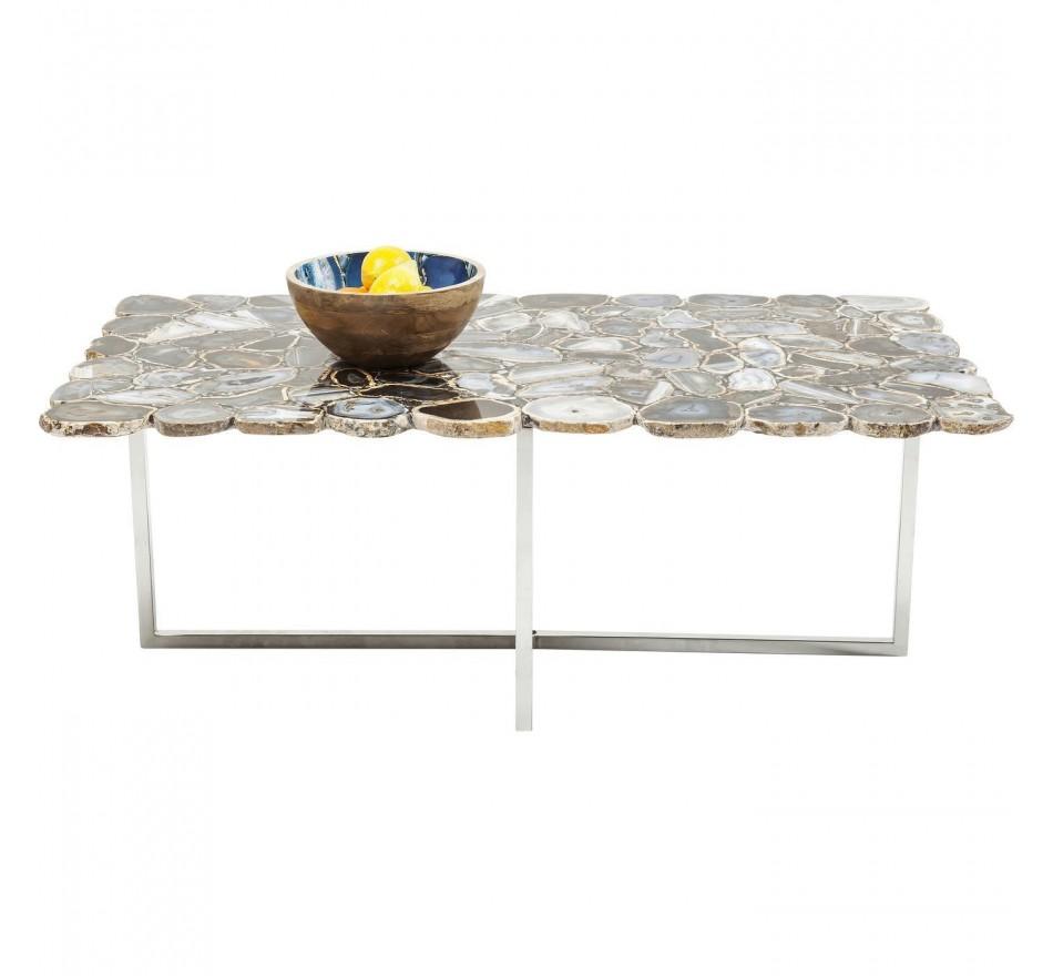 Table basse Tesoro bleu 110x60cm