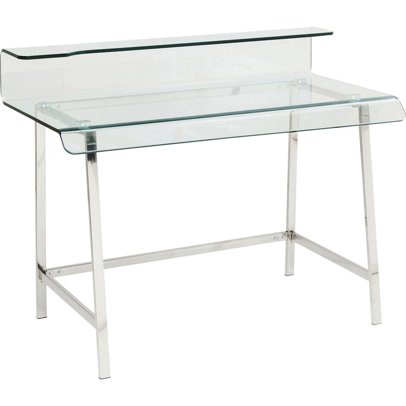 Bureau en verre Visible Clear Kare Design