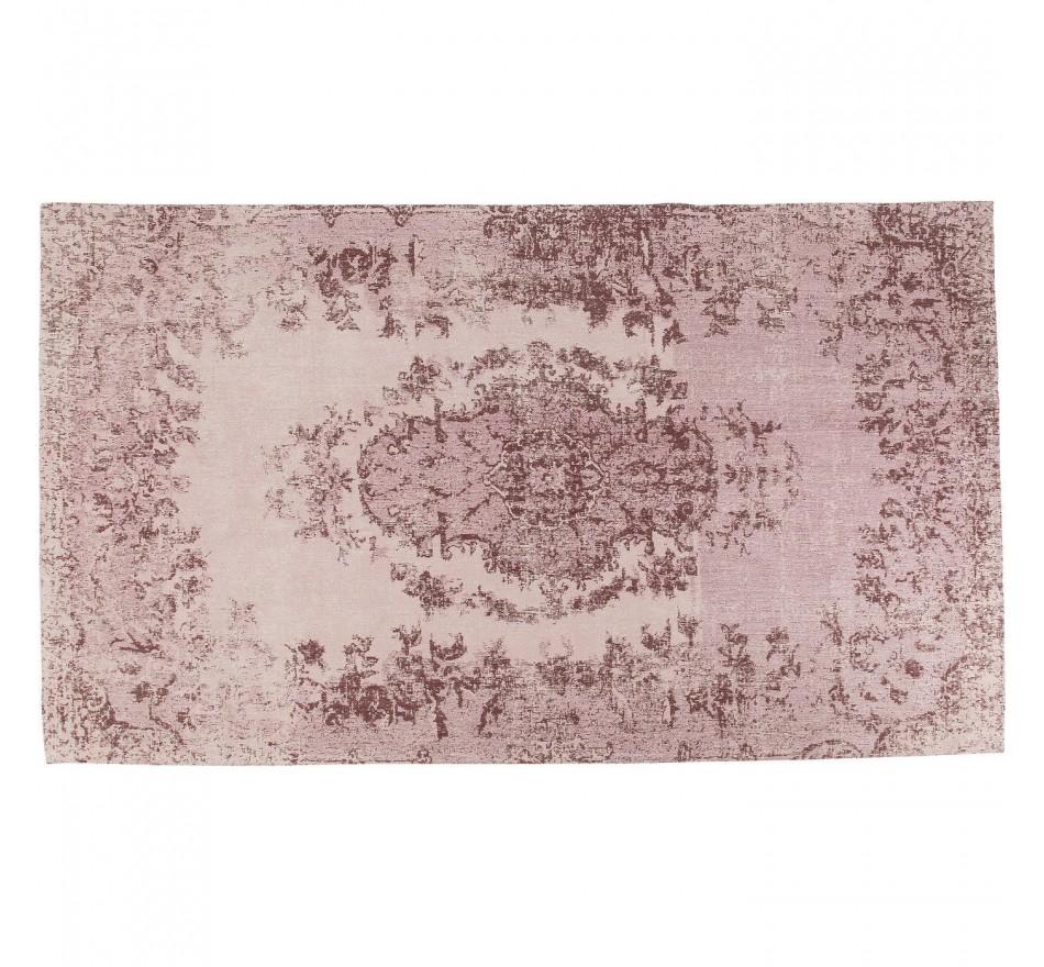 Tapis Kelim Ornament rose poudré 240x170cm Kare Design