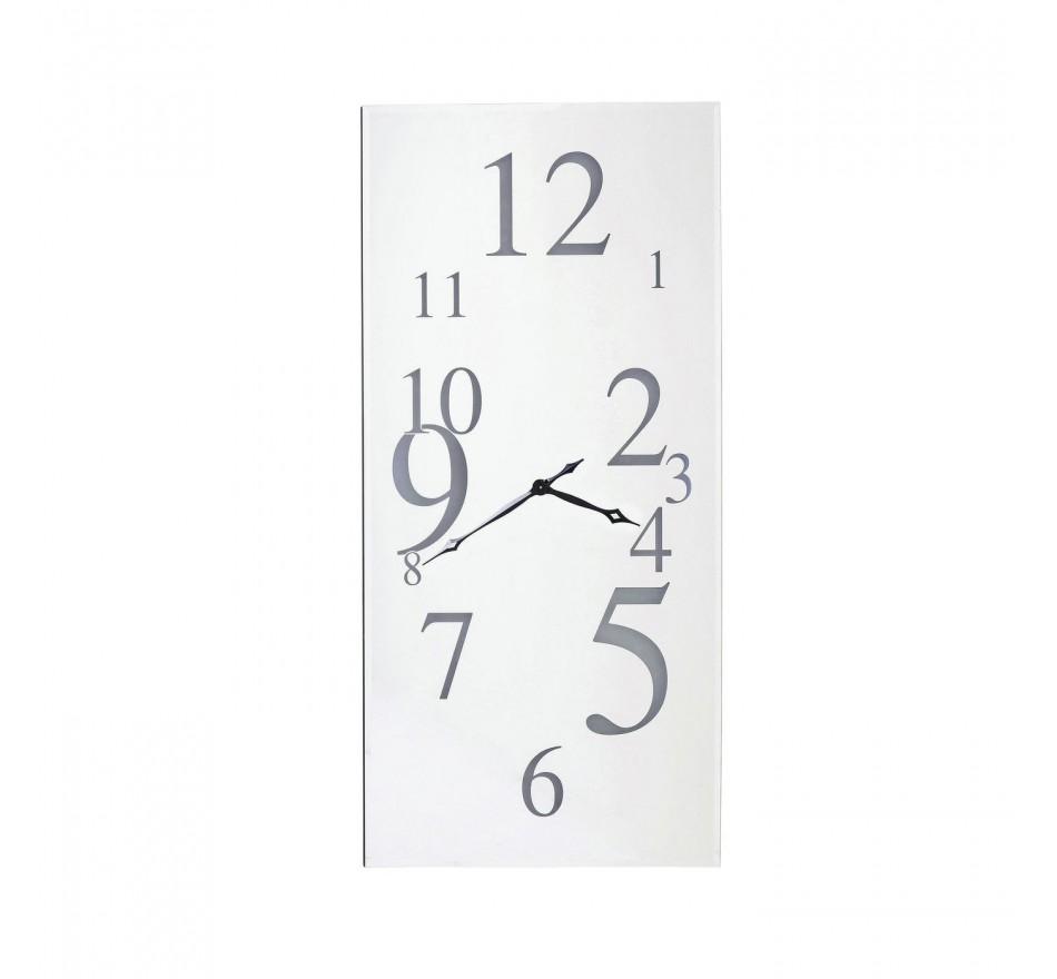 Horloge Wonderland LED rectangulaire 160x80cm Kare Design