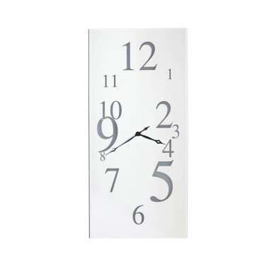 Horloge Wonderland LED rectangulaire 160x80cm Kare Design