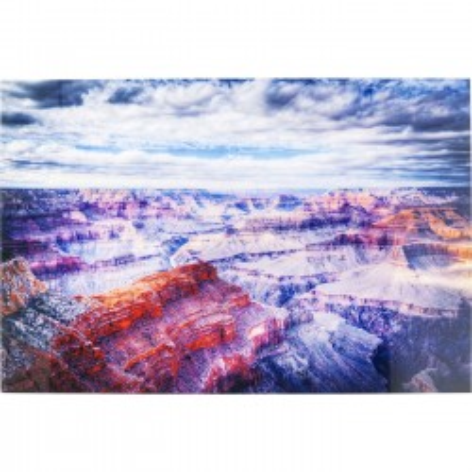 Tableau en verre Grand Canyon 120x180cm Kare Design