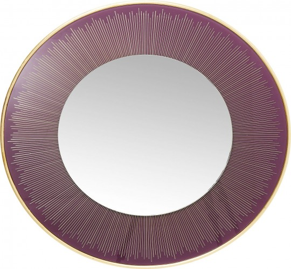 Miroir Revival violet 76cm Kare Design