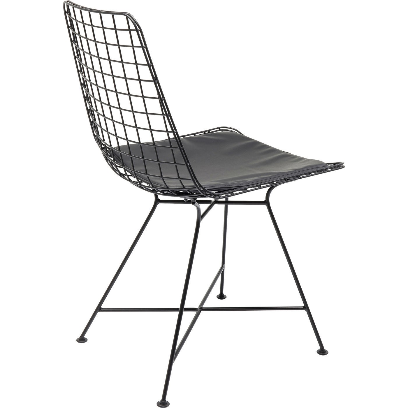 Chaise Grid noire Kare Design