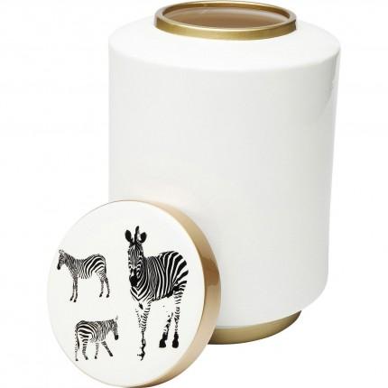 Boîte Zebra blanche 33cm Kare Design