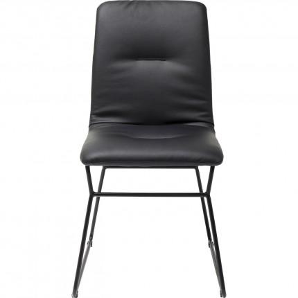 Chaise Zorro noire Kare Design