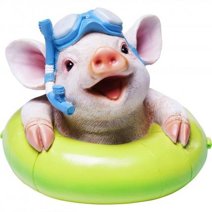 Tirelire cochon bouée Kare Design