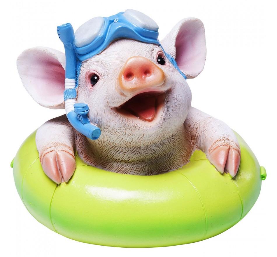 Tirelire Floating Pig Kare Design