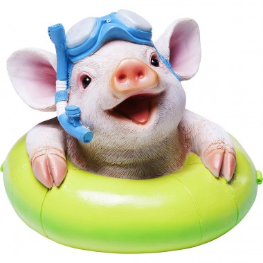 Tirelire Floating Pig Kare Design