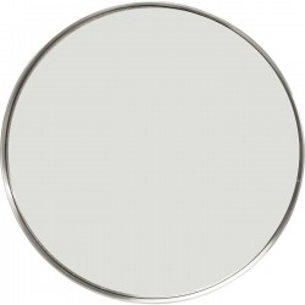 Miroir Curve rond inox 60cm Kare Design