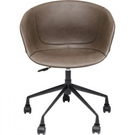 Chaise de bureau pivotante Lounge mat Kare Design
