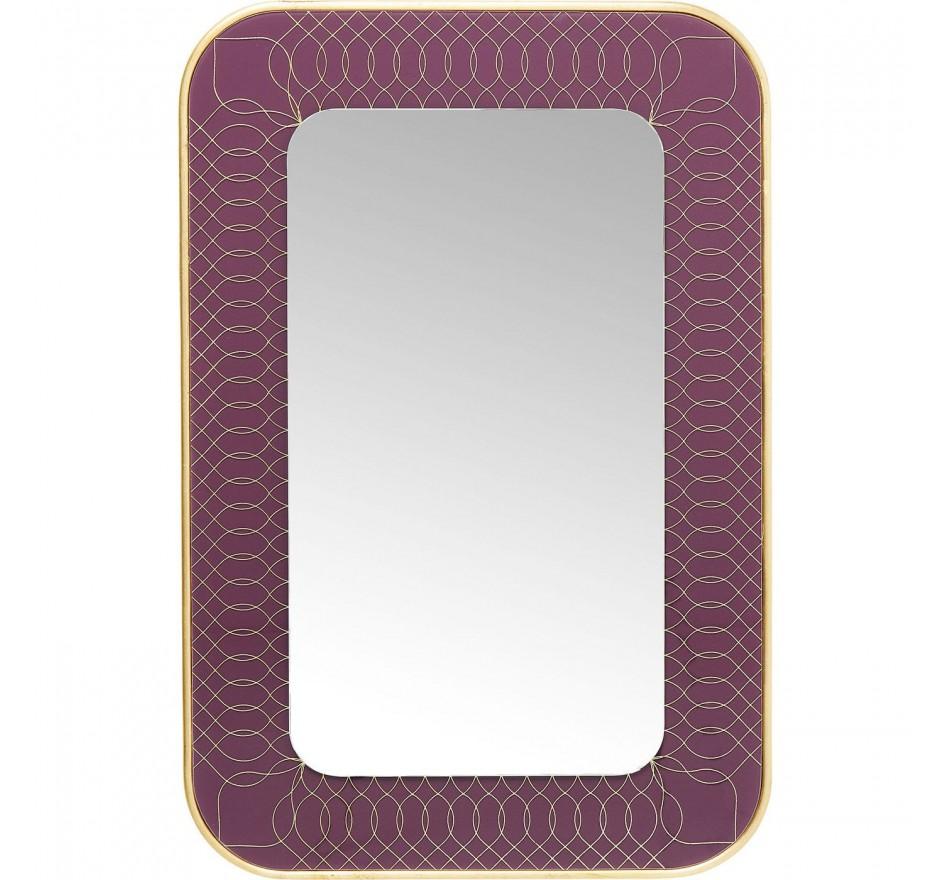 Miroir Revival violet 90x60cm Kare Design