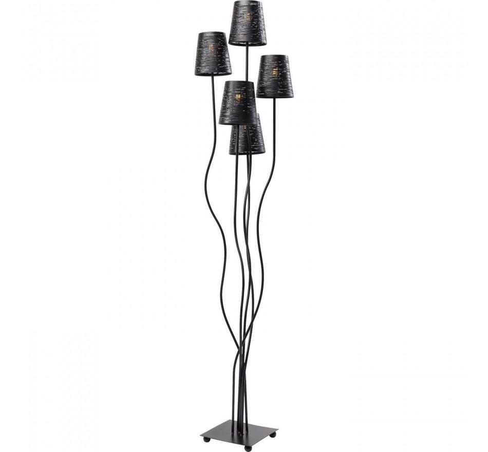 Lampadaire 5 Tiges Flexible Kare Design