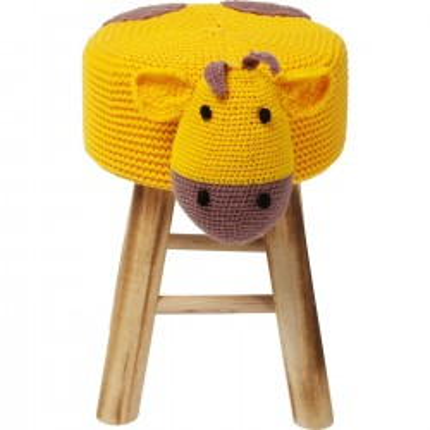 Tabouret Funny girafe Kare Design