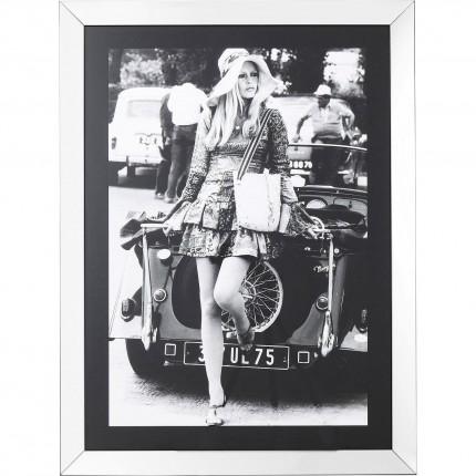 Tableau Frame Brigitte Diva 120x90cm Kare Design