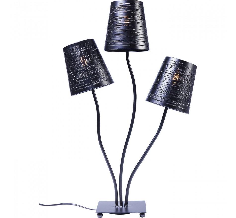 Kare Noir Tre Flexible Design Table De Lampe CeodBrx