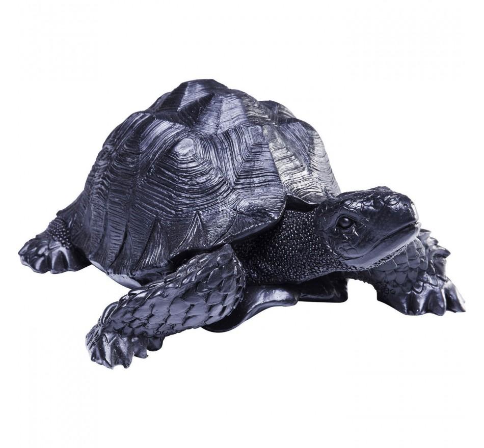 Déco tortue noire 11 cm Kare Design
