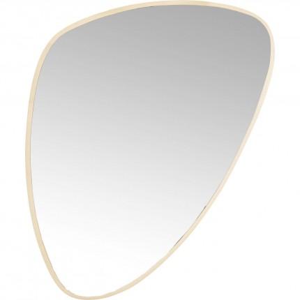 Miroir Jetset doré 83x56cm Kare Design