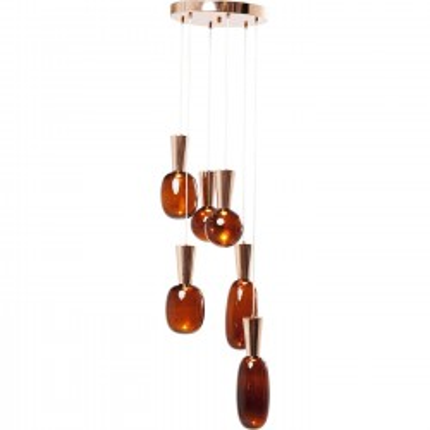 Suspension Glass Goccia LED Kare Design