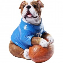 Tirelire Football Bulldog Kare Design