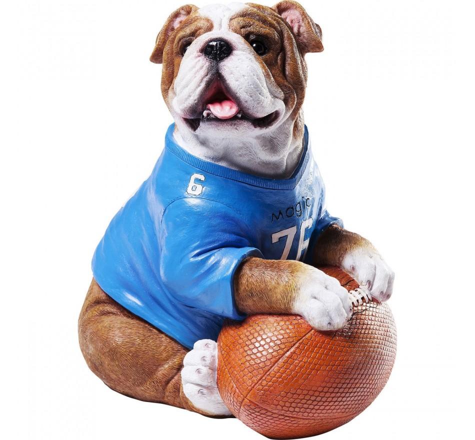 Tirelire Football Bulldog Kare Design
