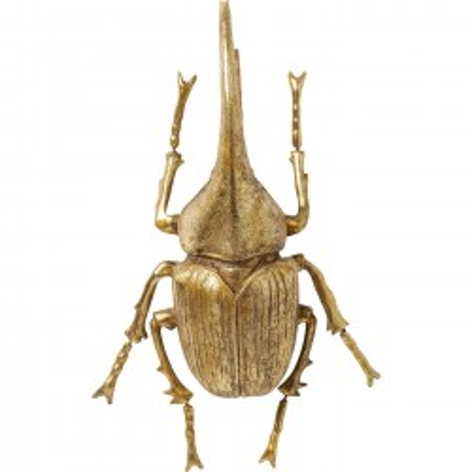 Déco murale Herkules Beetle dorée Kare Design