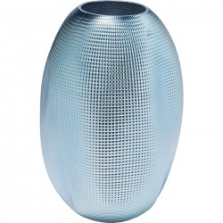 Vase High Society Light bleu 30cm Kare Design