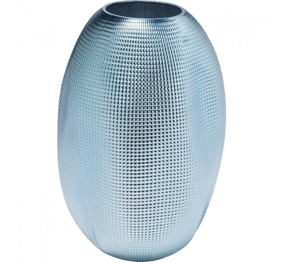 Vase High Society Light bleu 30cm Kare Design
