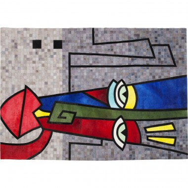Tapis Face Pop Art 170x240cm Kare Design