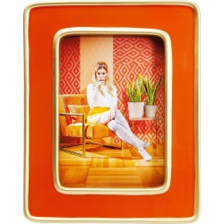 Cadre Zebra orange Kare Design
