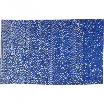 Tapis Pixel bleu 170x240cm Kare Design