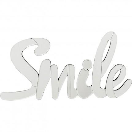 Déco murale Mirror Smile 60cm Kare Design
