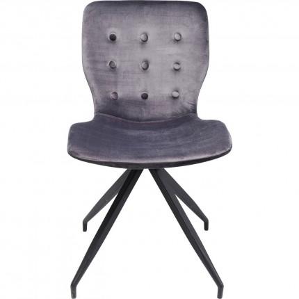 Chaise Butterfly gris foncé Kare Design