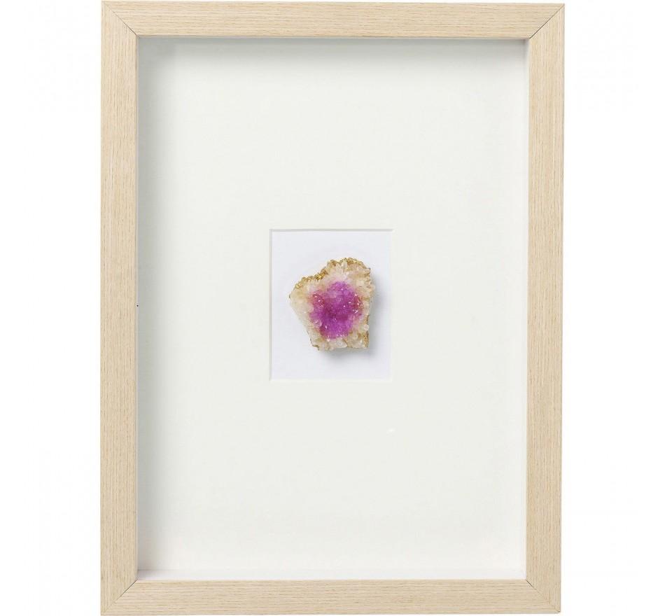 Tableau Frame Achat violet Kare Design
