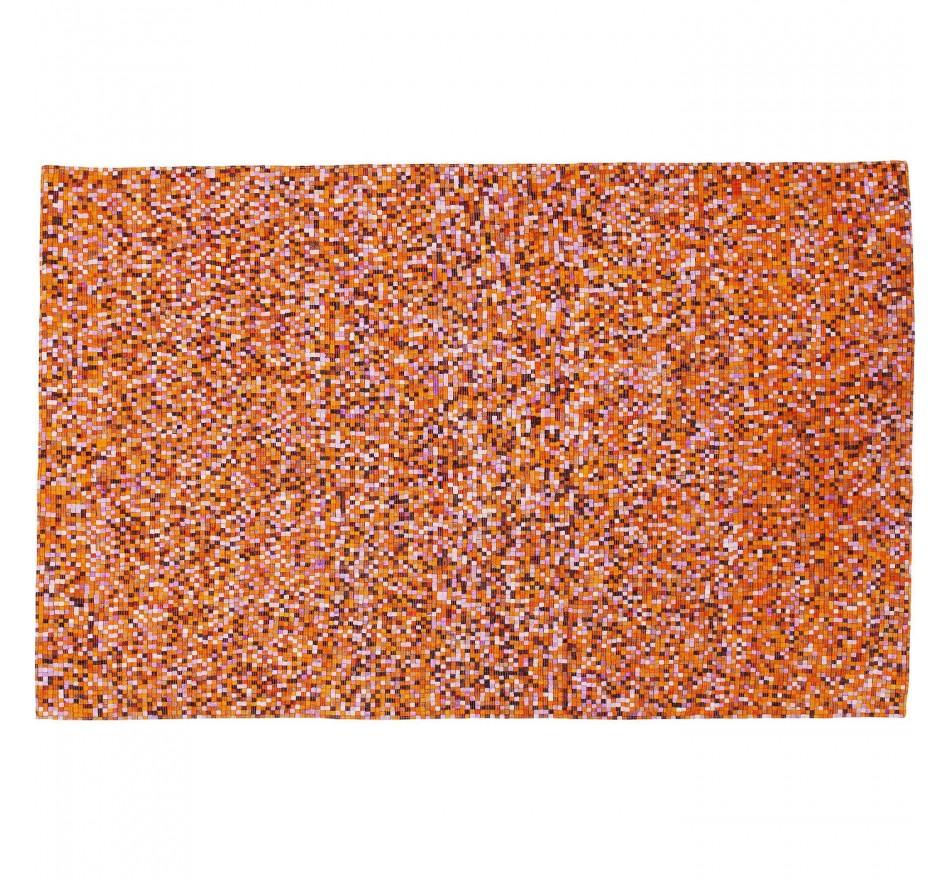 Tapis Pixel orange multi 170x240cm Kare Design