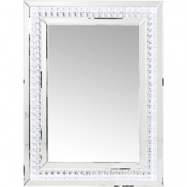Miroir Crystals LED 80x60cm Kare Design