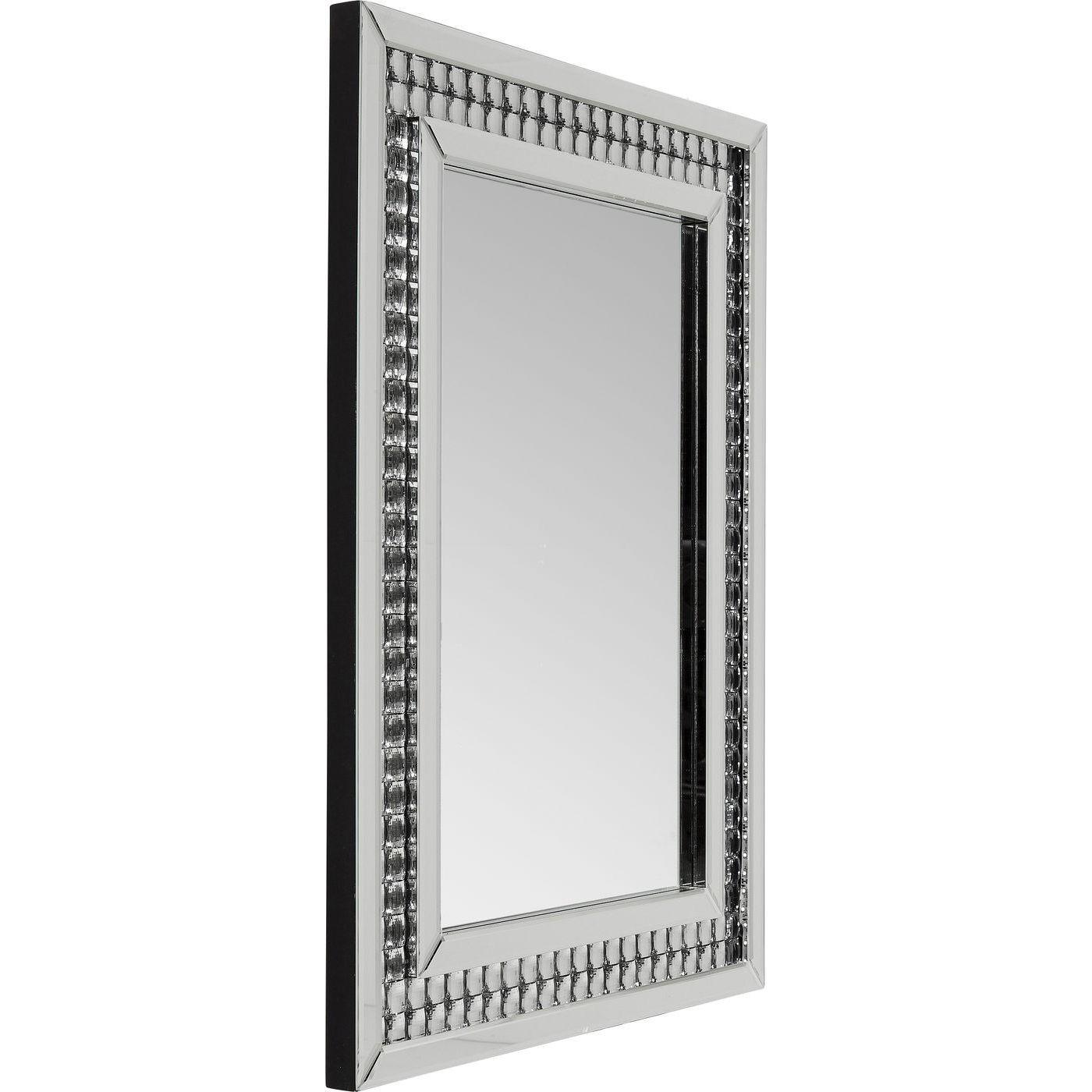Miroir Crystals LED 80x60cm Kare Design