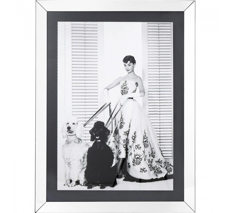Tableau Frame Princess Audrey Diva 120x90cm Kare Design