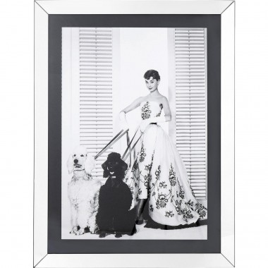 Tableau Frame Princess Audrey Diva 120x90cm Kare Design