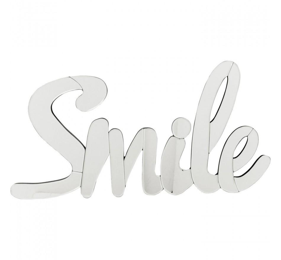 Déco murale Mirror Smile 40cm Kare Design