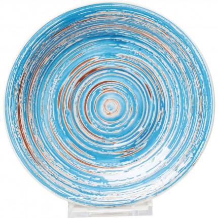 Assiettes Swirl Blue 19cm set de 4 Kare Design
