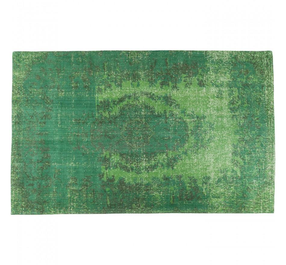 Tapis Kelim Ornament vert 240x170cm Kare Design